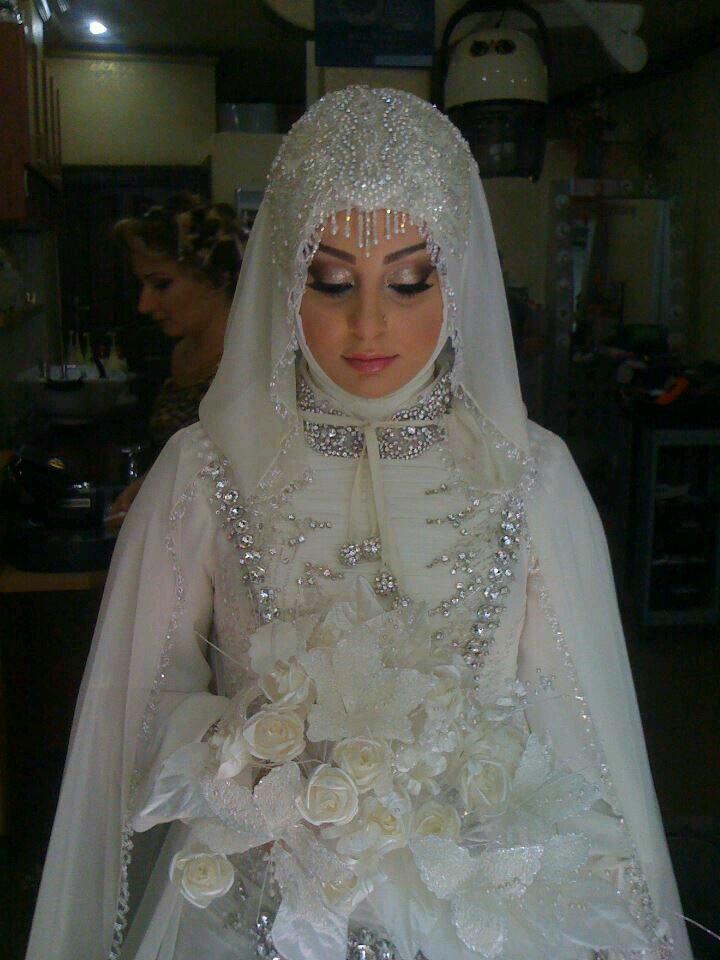 صور منتقبات ومحجبات 29 صور عروسه بالنقاب و الحجاب