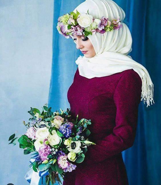 صور منتقبات ومحجبات 31 صور عروسه بالنقاب و الحجاب