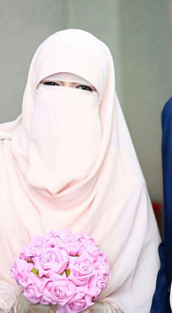 صور منتقبات ومحجبات 32 صور عروسه بالنقاب و الحجاب