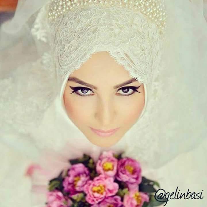 صور منتقبات ومحجبات 34 صور عروسه بالنقاب و الحجاب