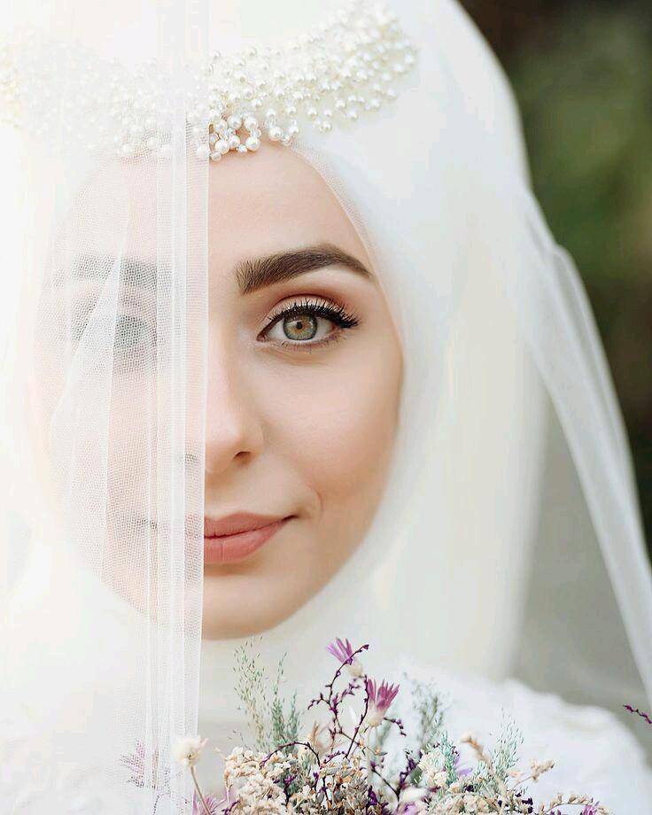 صور منتقبات ومحجبات 4 صور عروسه بالنقاب و الحجاب
