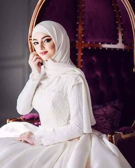 صور منتقبات ومحجبات 5 صور عروسه بالنقاب و الحجاب