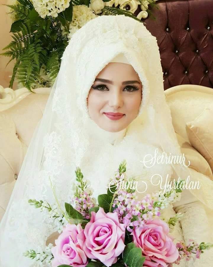 صور منتقبات ومحجبات 8 صور عروسه بالنقاب و الحجاب