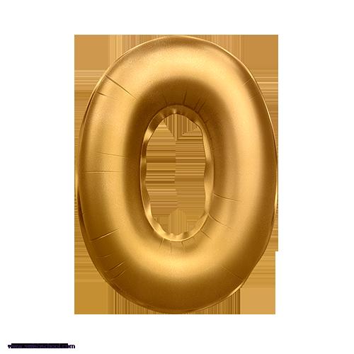 O 3D Alphabet Foil Balloon in PNG حروف بالونات الهيليوم كامله