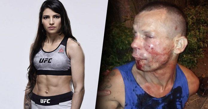 بوليانا فيانا بطلة UFC 2 لص منحوس حاول سرقه بطلة مصارعه UFC
