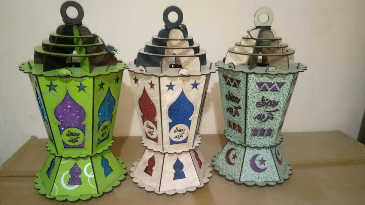 فوانيس رمضان خشب 15 مصنع فوانيس رمضان خشب