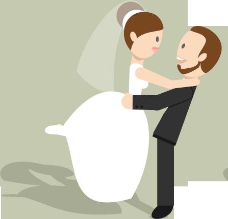 wedding cartoon poster 10 بوستر عريس وعروسة كرتون للفرح