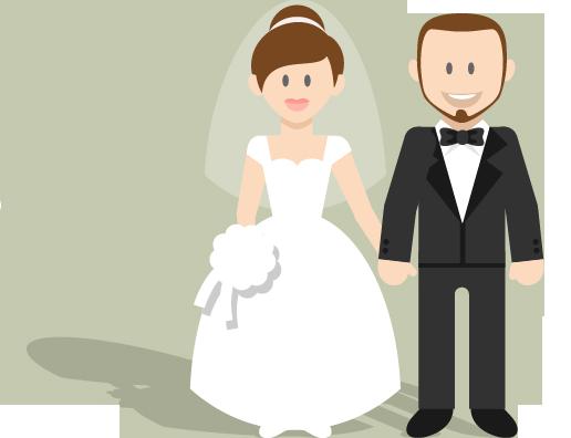 wedding cartoon poster 6 بوستر عريس وعروسة كرتون للفرح