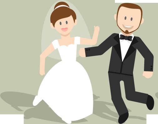 wedding cartoon poster 7 بوستر عريس وعروسة كرتون للفرح