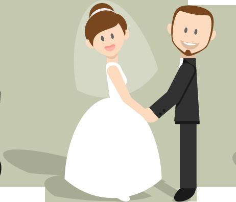 wedding cartoon poster 8 بوستر عريس وعروسة كرتون للفرح