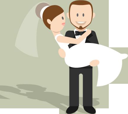wedding cartoon poster 9 بوستر عريس وعروسة كرتون للفرح