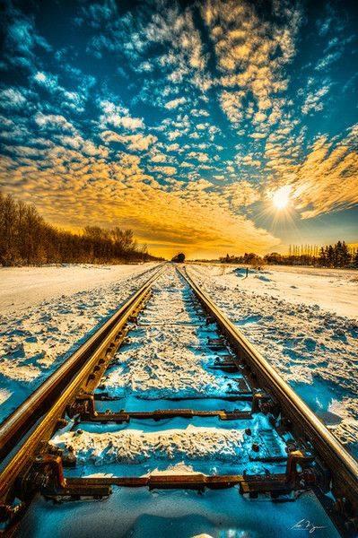 شريط السكه الحديد 2 صور قضبان السكه الحديد