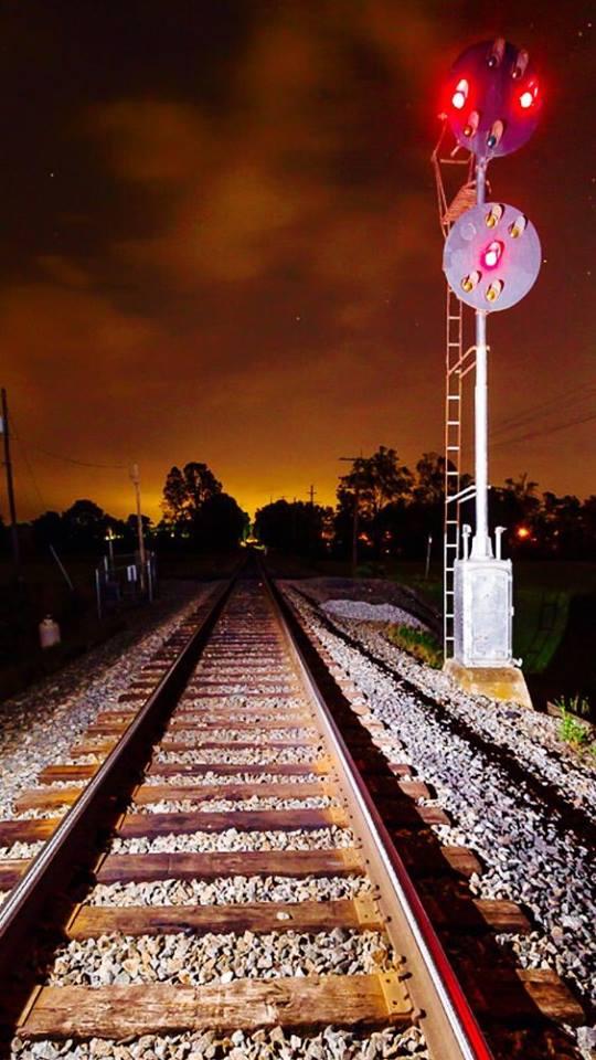 شريط السكه الحديد 3 صور قضبان السكه الحديد