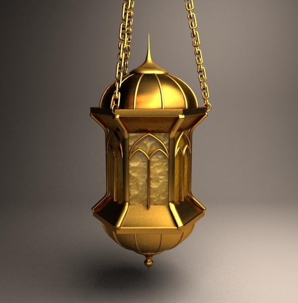 Free Fanos Ramadan 3D models موديلات فانوس رمضان 3D