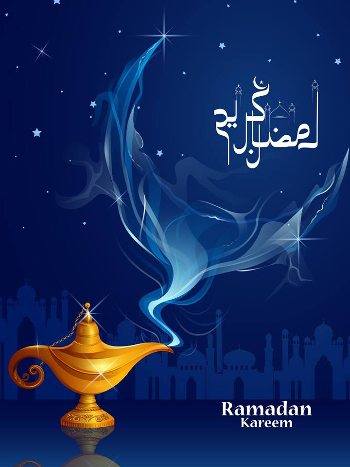 Islamic celebration background with text Ramadan Kareem 10 Islamic celebration background with text Ramadan Kareem