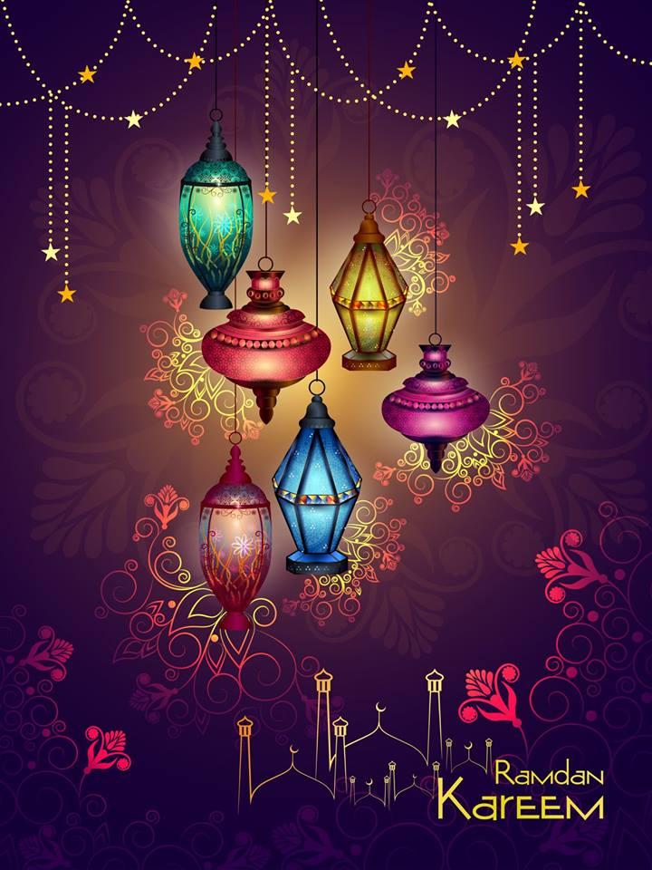 Islamic celebration background with text Ramadan Kareem 4 Islamic celebration background with text Ramadan Kareem