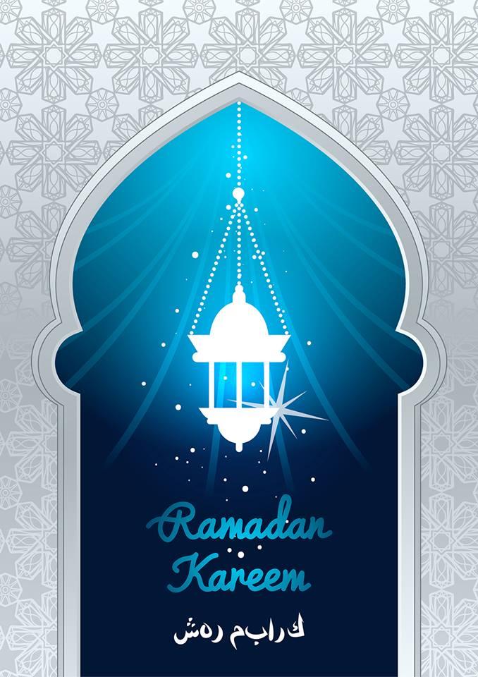 Islamic celebration background with text Ramadan Kareem 7 Islamic celebration background with text Ramadan Kareem