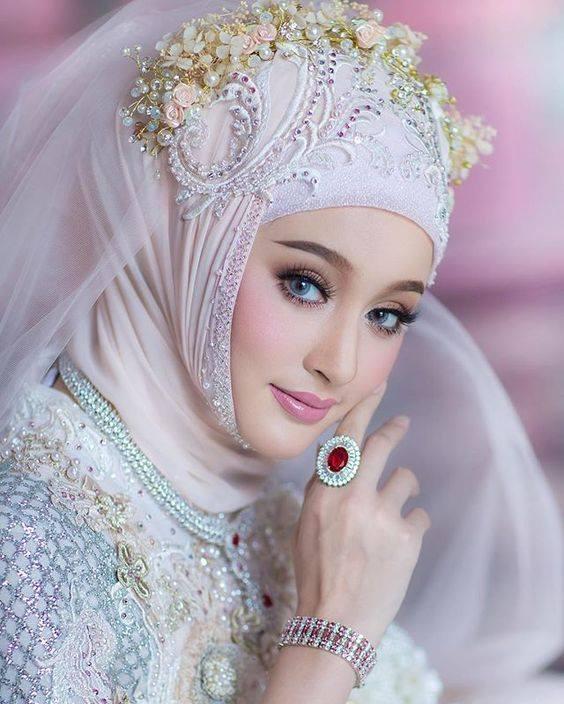 عروسه محجبه 1 صور بنات بالحجاب والنقاب