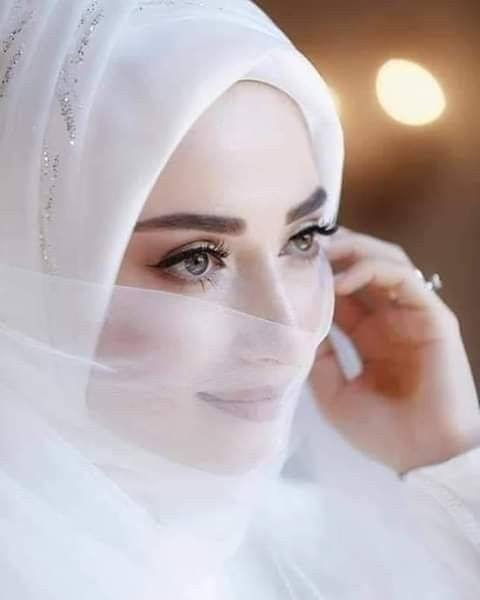 عروسه محجبه 4 صور بنات بالحجاب والنقاب