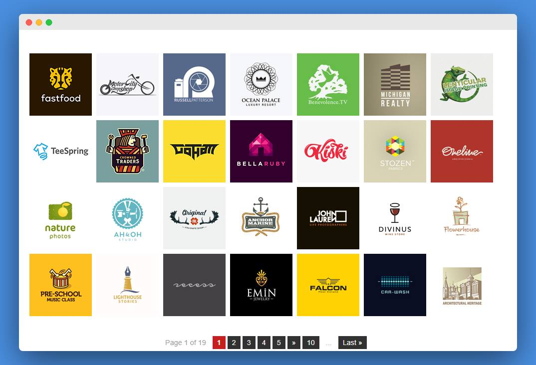 www.logogallery.net  4 مواقع يجب على كل مُصمم شعارات ان يعرفهم