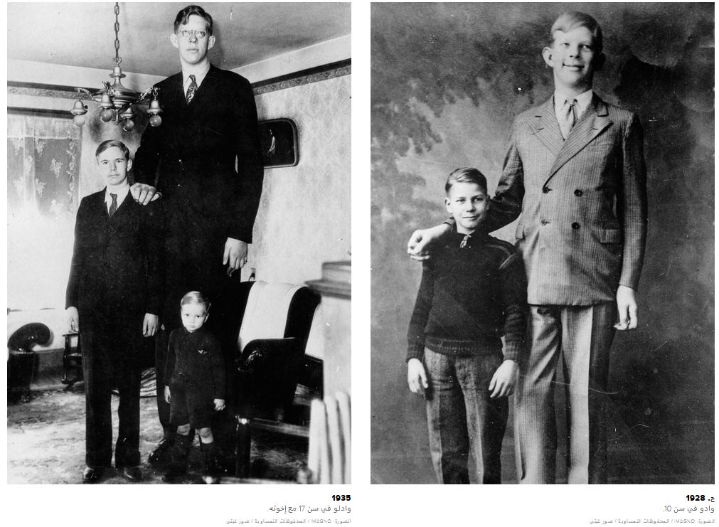 اطول رجل في التاريخ اطول الاشخاص حول العالم