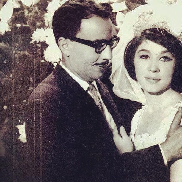 صور زواج شويكار و فؤاد المهندس صور زفاف المشاهير والفنانين