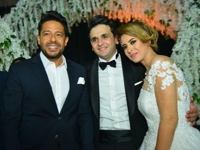 صور زواج مصطفى خاطر صور زفاف المشاهير والفنانين