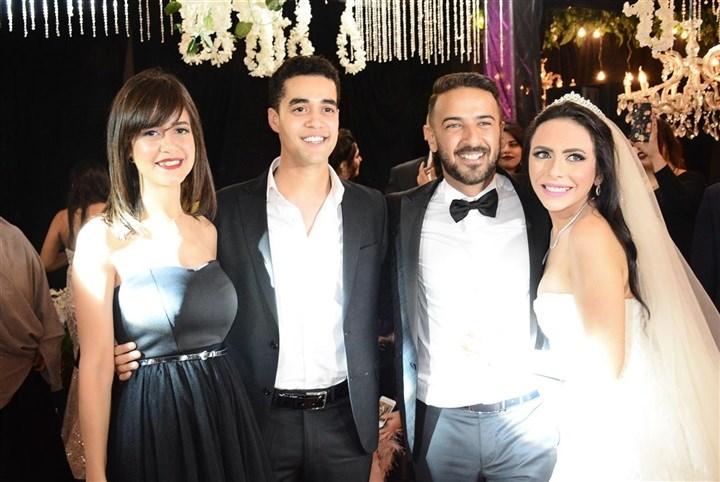 محمد مهران 2 صور زفاف المشاهير والفنانين