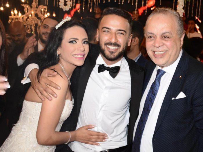 محمد مهران صور زفاف المشاهير والفنانين