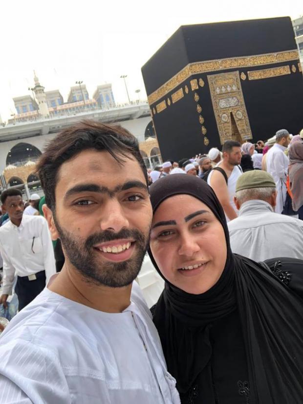 حسنين الشحات و زوجته بالصور زوجات نجوم كره القدم المصريه