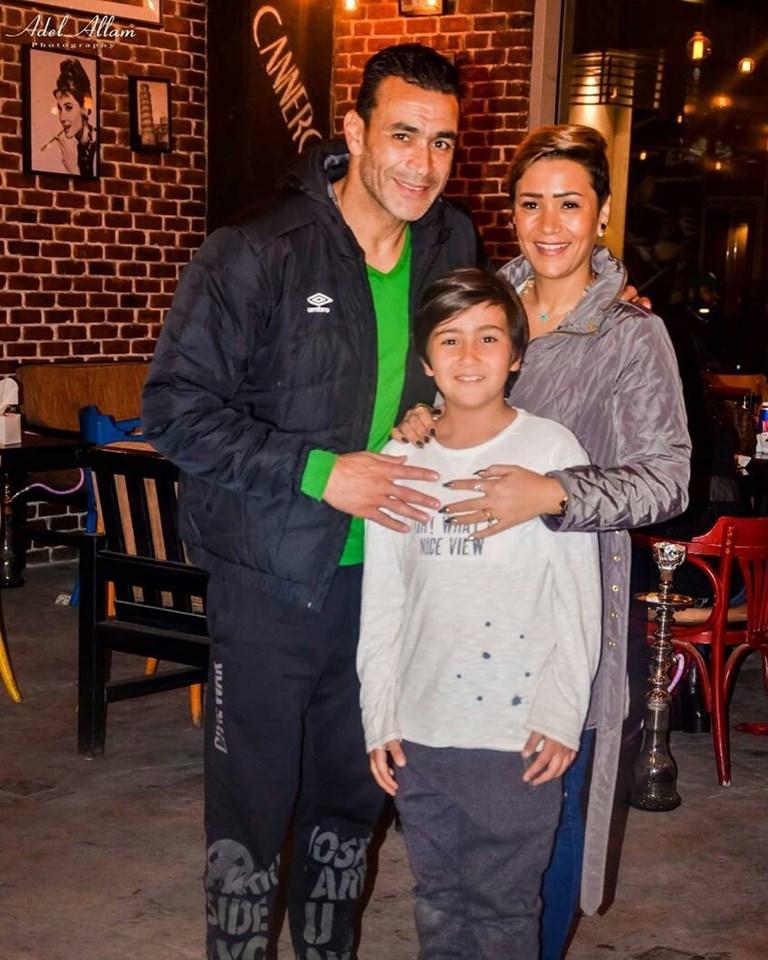 عصام الحضري و عائلته 4 بالصور زوجات نجوم كره القدم المصريه