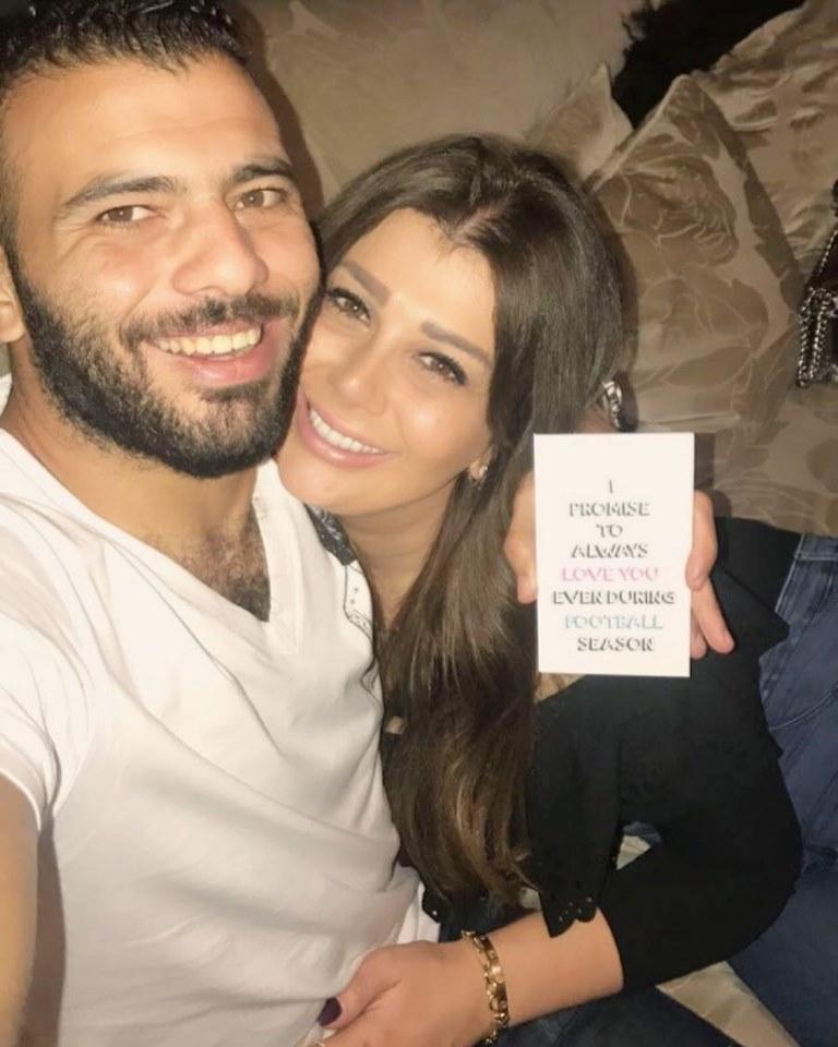 عماد متعب و يارا ناعوم 2 بالصور زوجات نجوم كره القدم المصريه
