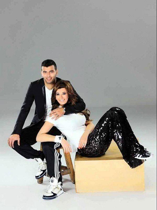 عماد متعب و يارا ناعوم 4 بالصور زوجات نجوم كره القدم المصريه