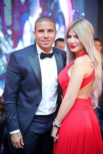 محمد زيدان و زوجته 1 بالصور زوجات نجوم كره القدم المصريه