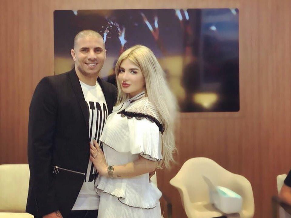 محمد زيدان و زوجته 3 بالصور زوجات نجوم كره القدم المصريه