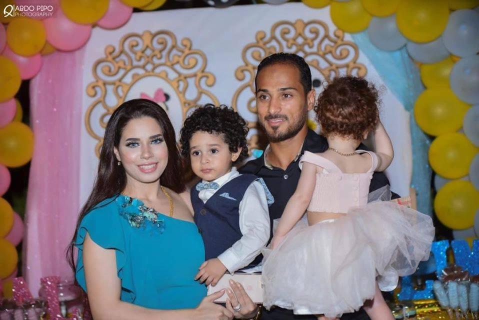 وليد سليمان و زوجته بالصور زوجات نجوم كره القدم المصريه