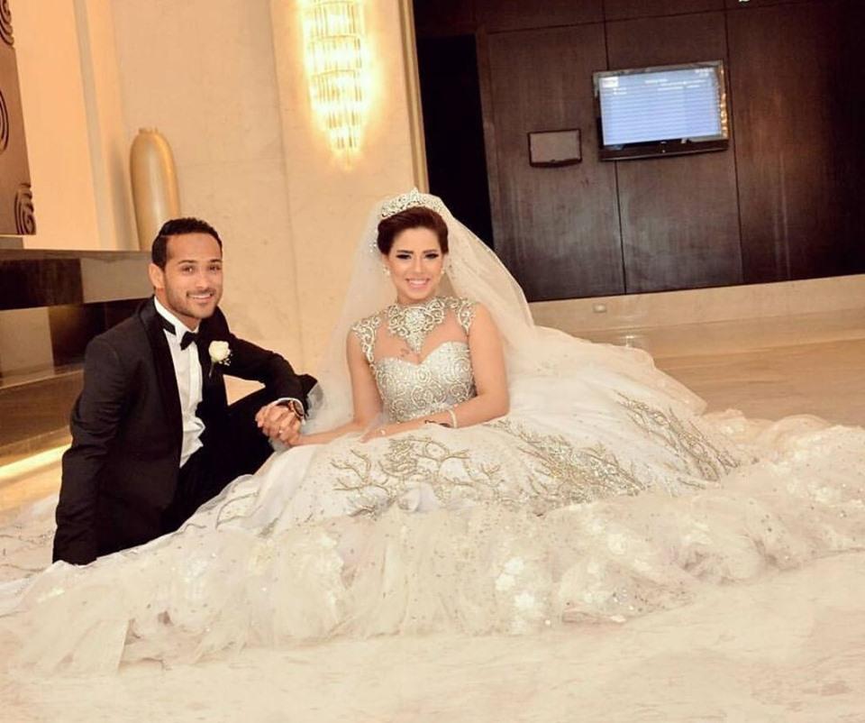 وليد سليمان بالصور زوجات نجوم كره القدم المصريه