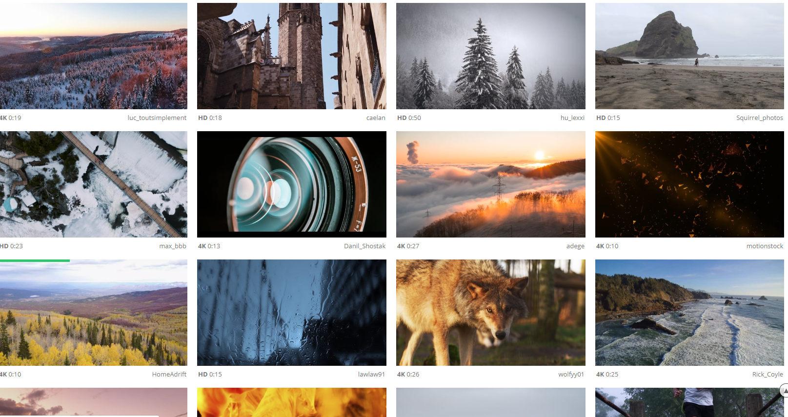 اقوى موقع فيديوهات مونتاج مجانيه اقوى 10 مواقع لتحميل فيديوهات مجانيه للمونتاج