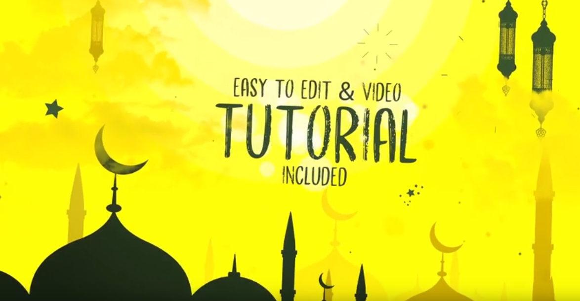 Islamic New Year Opener قوى مكتبه مشاريع افترافيكت شهر رمضان و العيد
