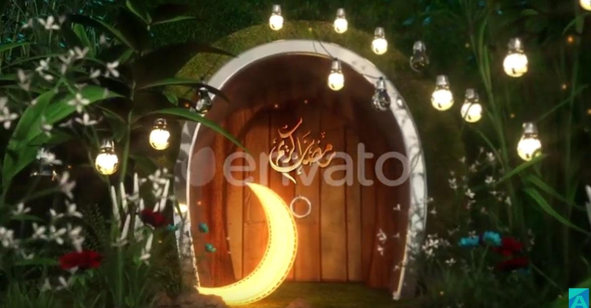 Ramadan Logo Free Download After Effects Templates قوى مكتبه مشاريع افترافيكت شهر رمضان و العيد
