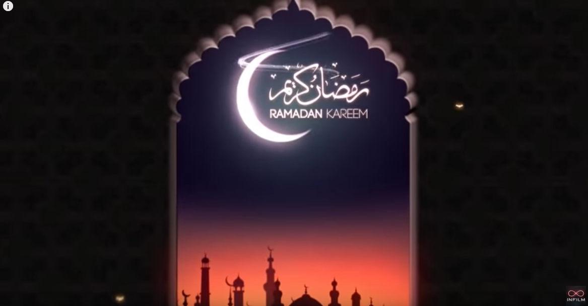 Ramadan Logo Reveal After Effects Template قوى مكتبه مشاريع افترافيكت شهر رمضان و العيد