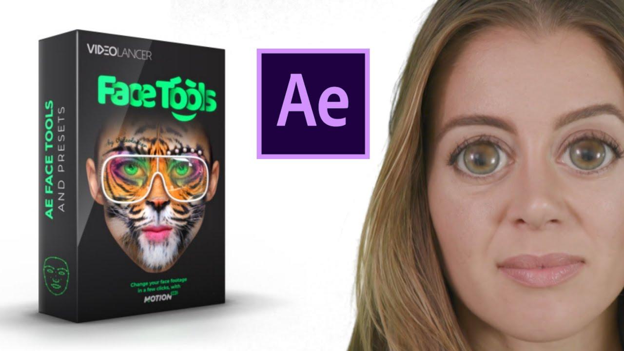 سناب شات للافترافيكت تحميل أداه تبديل الوجه على افترافيكت AE Face Tools