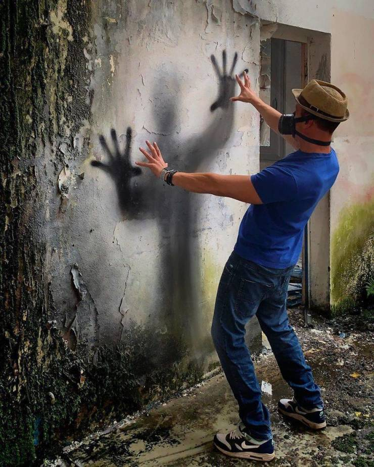 3d street art 12 فن الشارع ثلاثي الابعاد