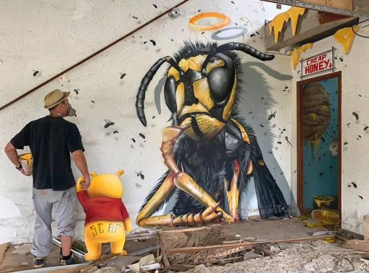 3d street art 27 فن الشارع ثلاثي الابعاد