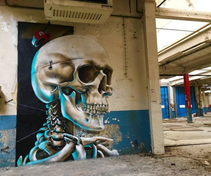 3d street art 33 فن الشارع ثلاثي الابعاد