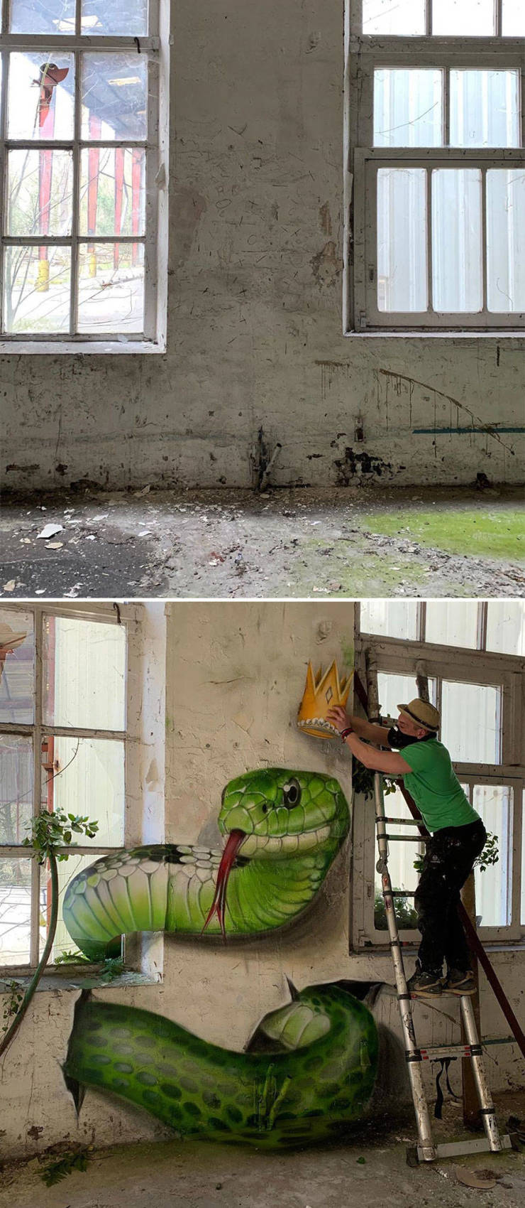 3d street art 4 فن الشارع ثلاثي الابعاد