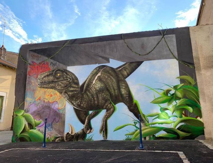 3d street art 42 فن الشارع ثلاثي الابعاد