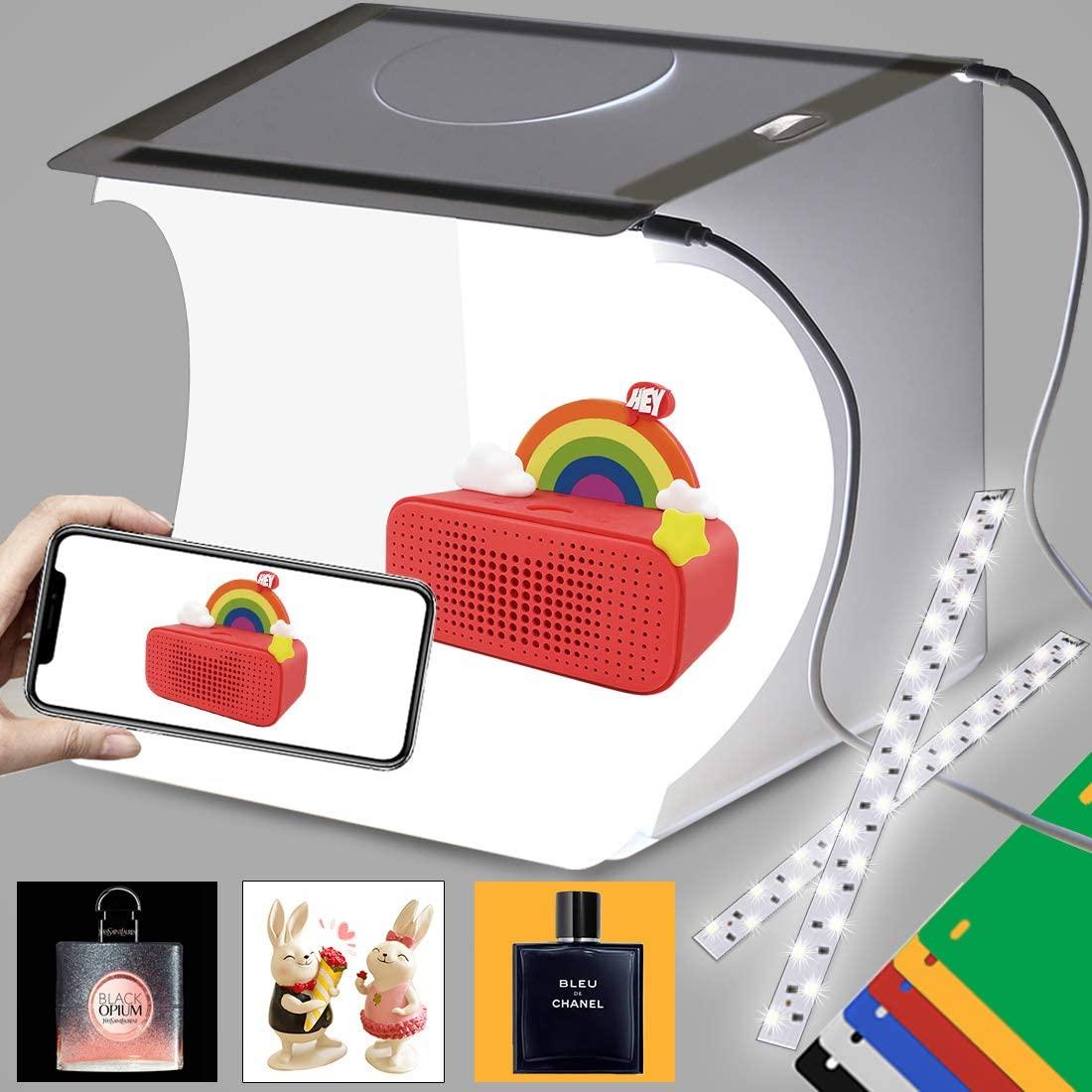 بوكس تصوير المنتجات Lightbox Studio 2 كل ما تريد معرفته عن بوكس تصوير المنتجات Lightbox Studio