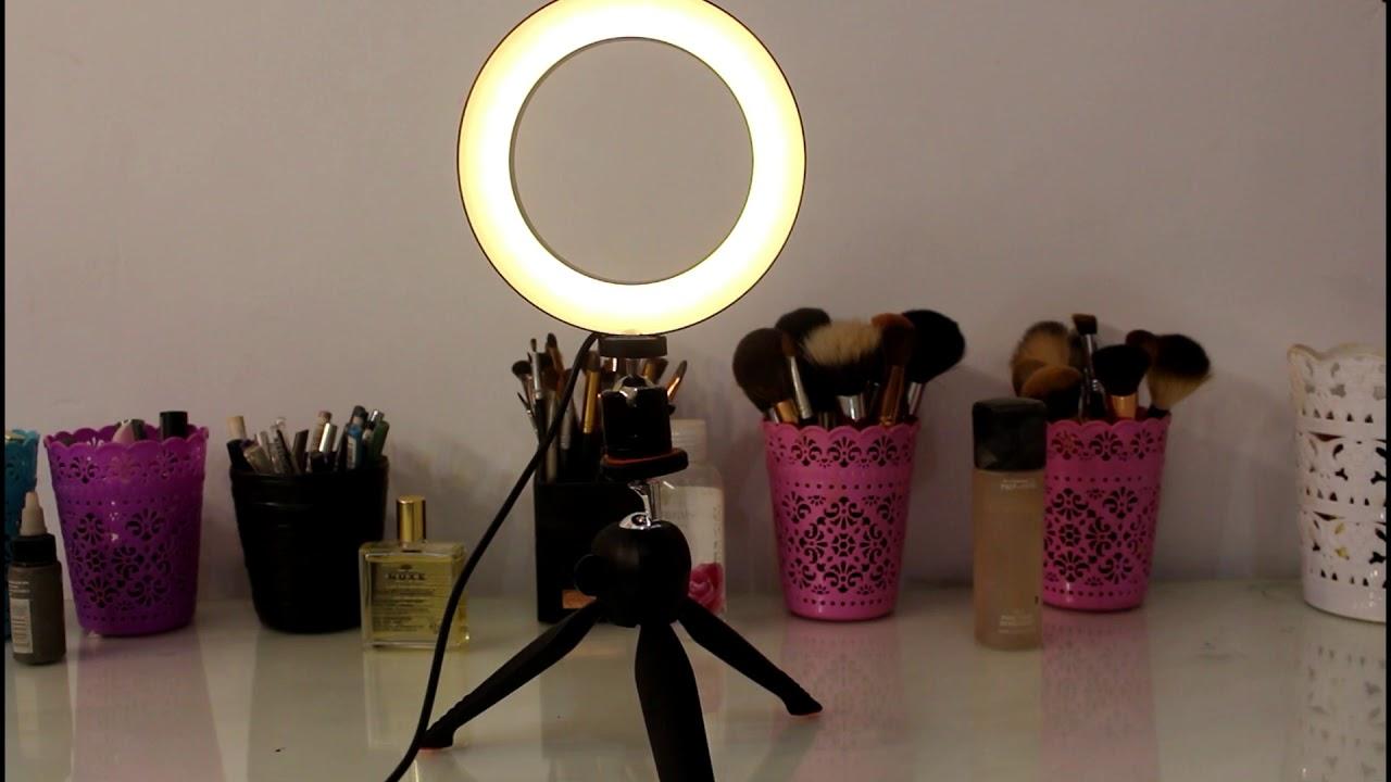 ring light 2 ماهو الرينج لايت و طريقه استعماله ring light