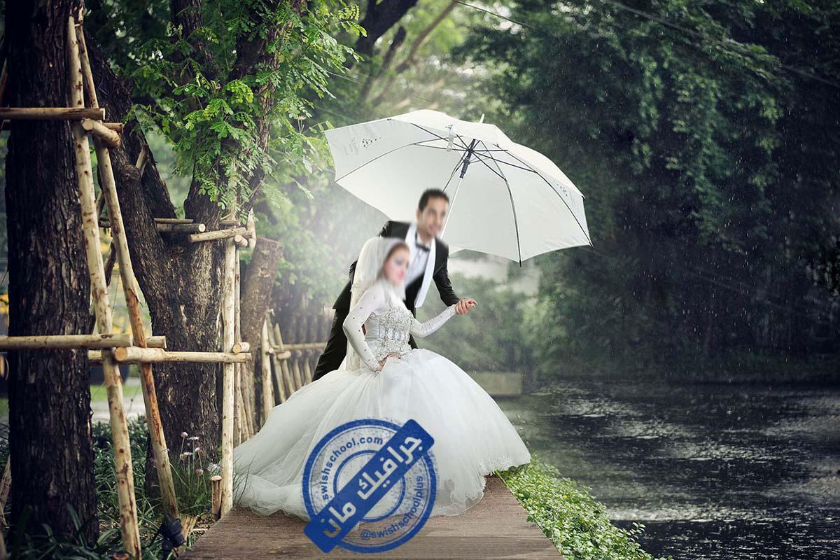 Romantic wedding designs 1 خلفيات عرايس رومانسيه psd للزفاف الجزء الاول